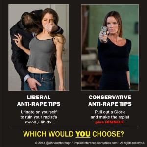 Liberal Rape Tips