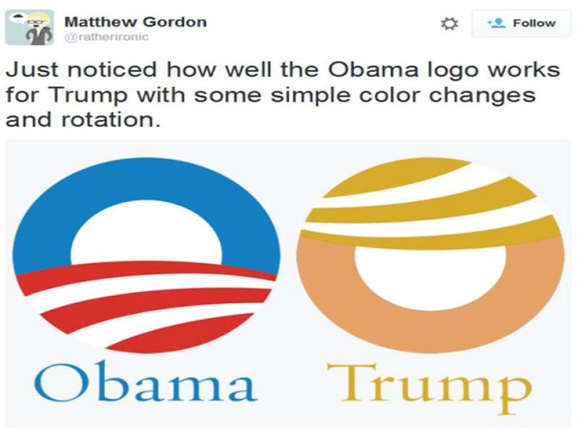 obama - trump