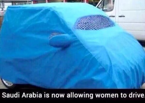 Woman's Car - Saudi Arabia