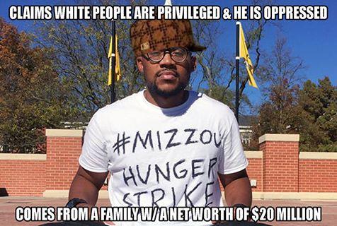 MIZZOU Hunger Striker A Fraud