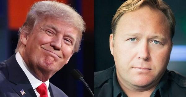 Donald Trump Interviewed by Alex Jones