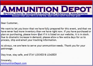 Amunition Depot
