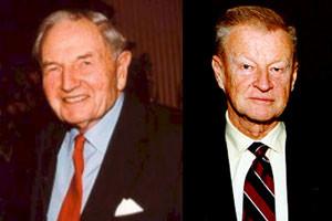 Brzezinski-Rockefeller